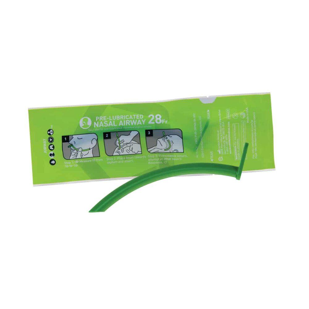 Pre-Lubricated Nasal Airway