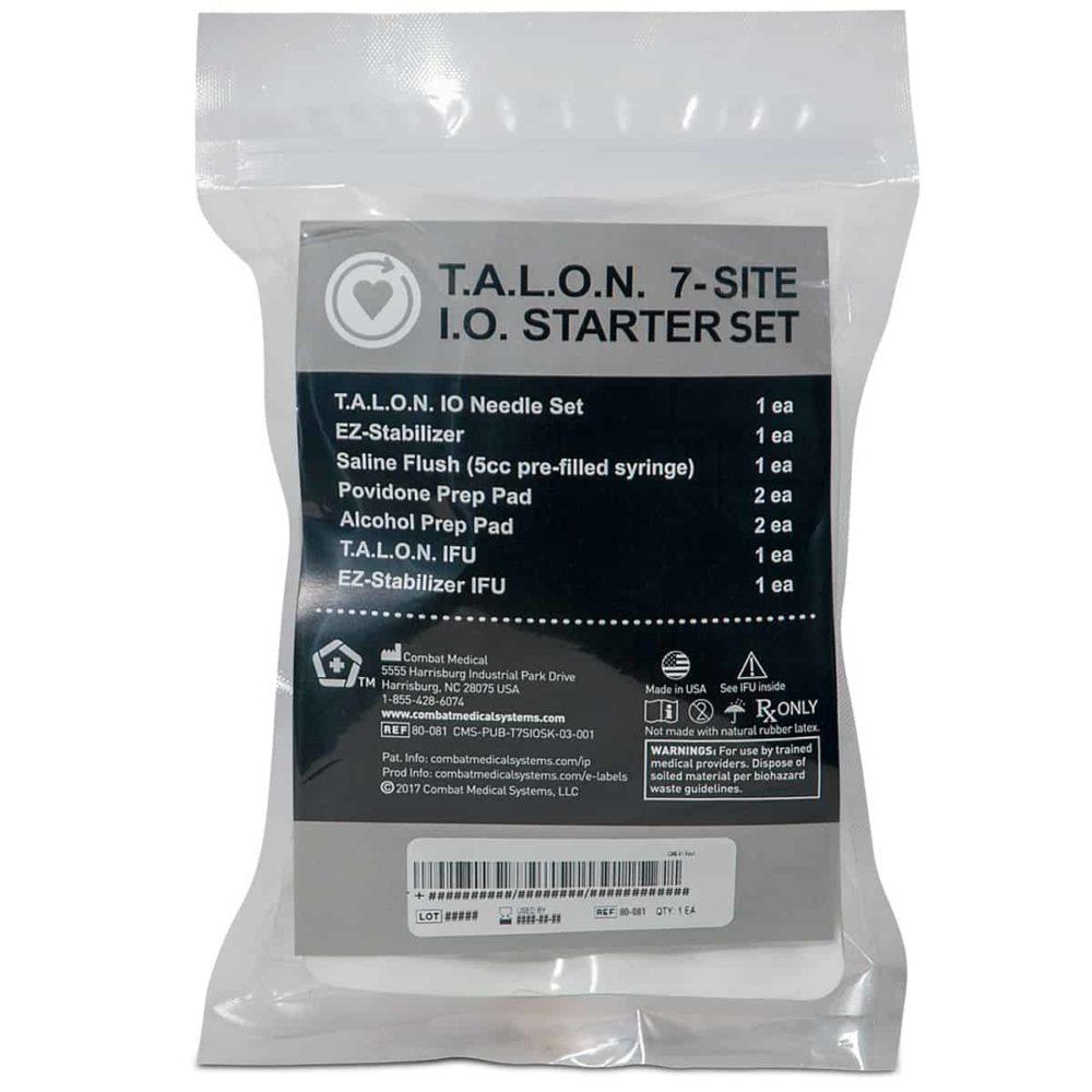 T.A.L.O.N.™ 7-Site Intraosseous Starter Set