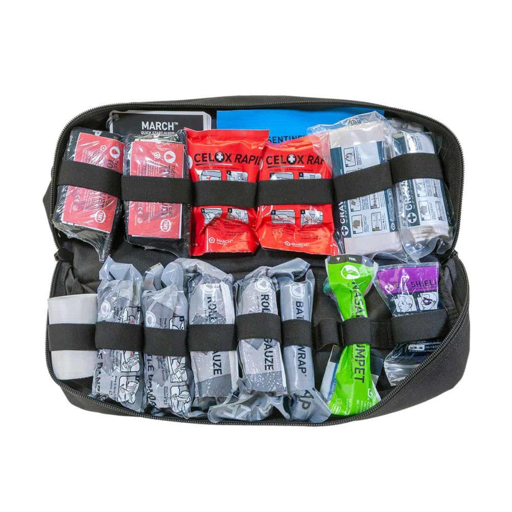 Mojo® Combat Lifesaver Bag - Black, Intermediate
