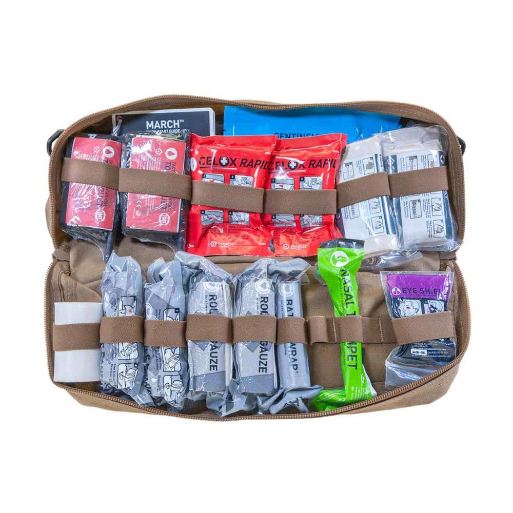 Mojo® Combat Lifesaver Bag - Coyote Brown, Intermediate