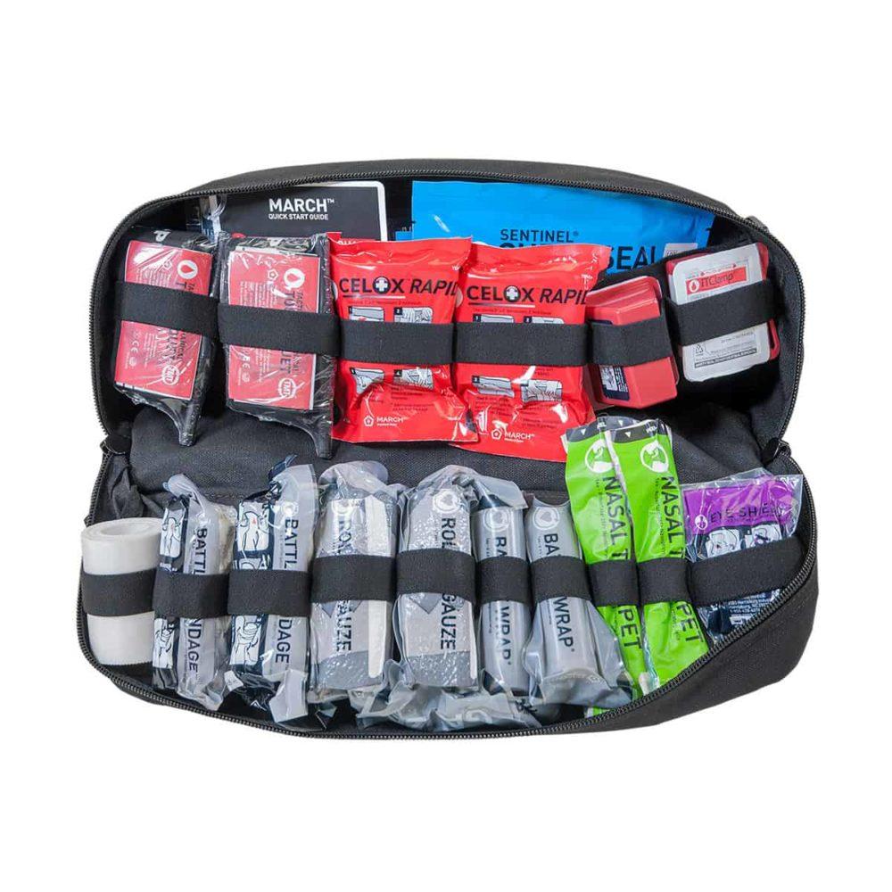 Mojo® Combat Lifesaver Bag - Black, Advanced