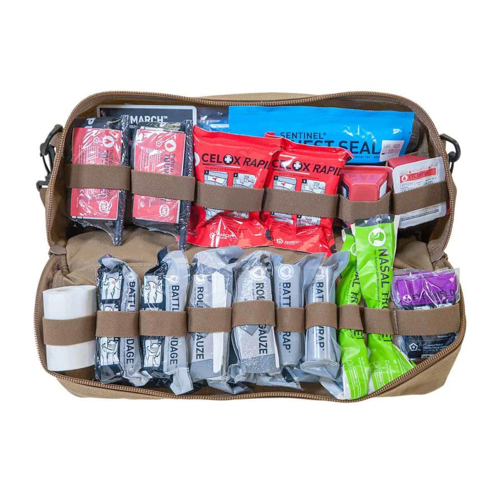 Mojo® Combat Lifesaver Bag - Coyote Brown, Advanced