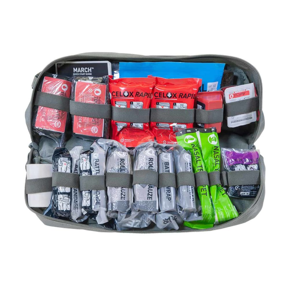Mojo® Combat Lifesaver Bag - Foliage Green, Advanced