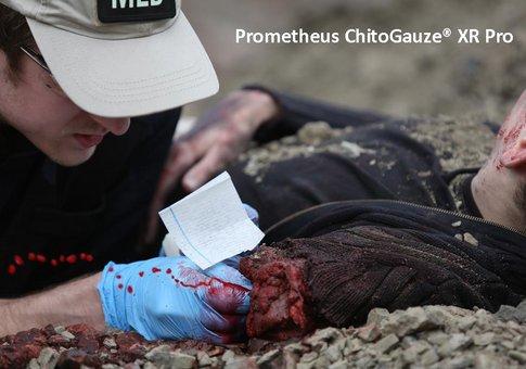Prometheus ChitoGauze® XR Pro