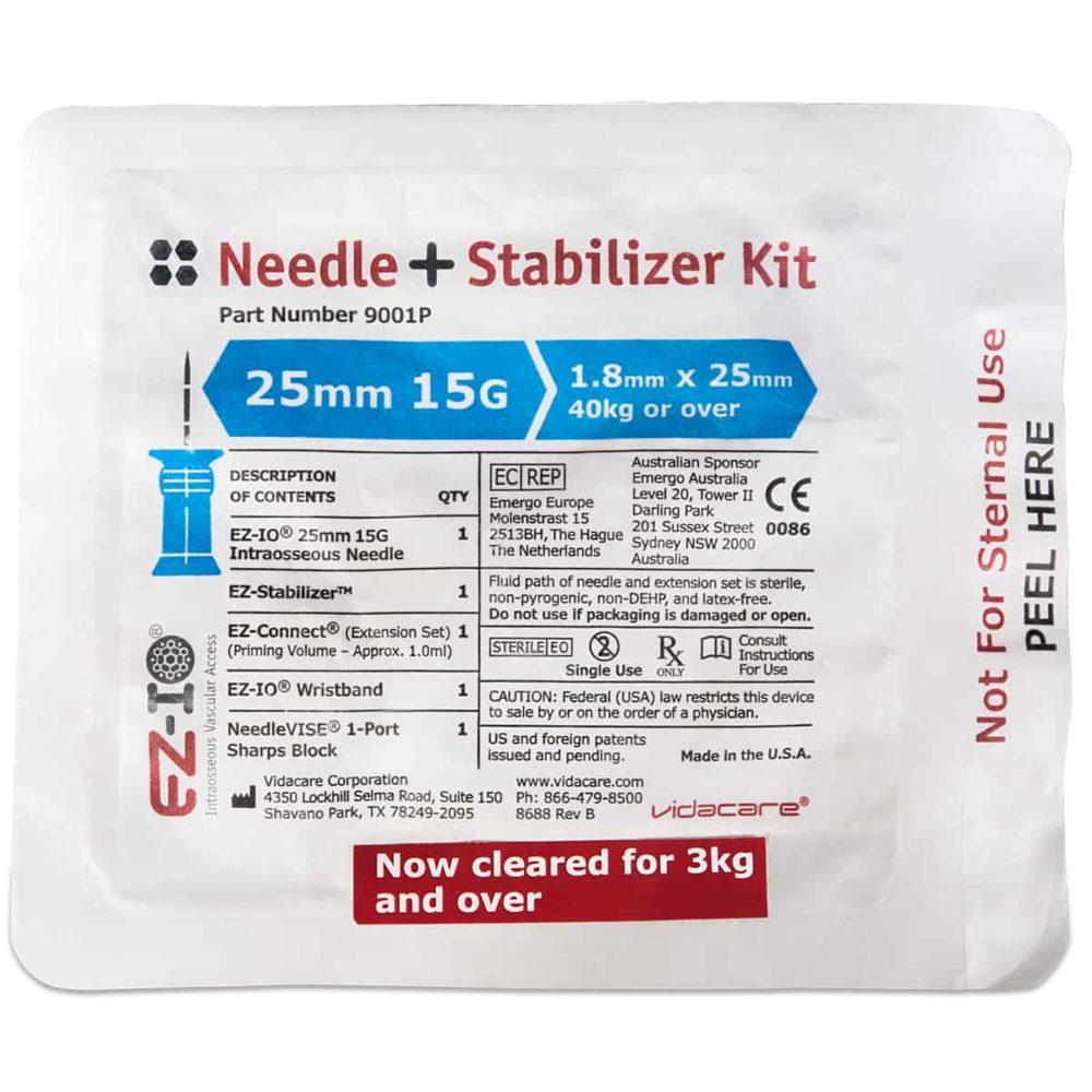 EZ-IO® Needle + Stabilizer Kit