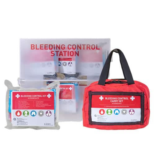 Bleeding Control Kit, Carry Set - Intermediate, Carry Set